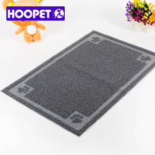 Hoopet free shipping Semi Circular Rectangle cat clean mat cat Sand Filtering Ottomans clean