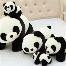 Super Cute Large Size 40cm Panda Plush Toy Baby Sleeping Appease Doll Kids Gifts