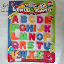 26PCS Colorful ABC Alphabet Magnet Fridge Sticker Plastic Early Baby Learning Educational Toy Word Combination free shipping(China)
