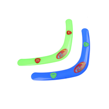 "1 pcs Child Funny V Shaped Boomerang Returning ""Throwback"" Whistler Boomerang Toy Outdoor Toys Sports random color(China)"