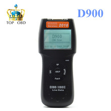 D900 scanner Universal D900 OBD2 EOBD CAN Fault Code Reader Scanner Diagnostic Scan For Any Car