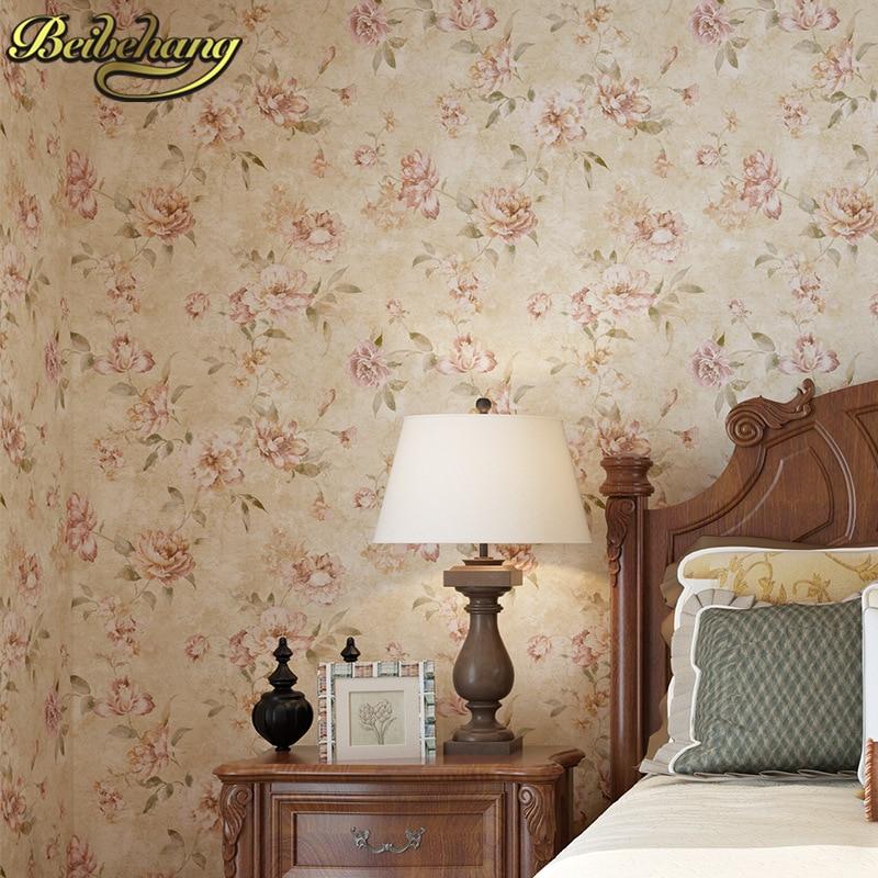 beibehang papel de parede 3d Retro American Village Non woven Wallpaper For Wall 3 D Classic TV Bedroom Wall paper Home Decor<br>