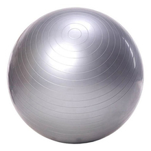 Exercise Ball Yoga Ball Free Pump- Burst Resistant Fitness Balls for Yoga Pilaties Abs and Core Workouts (gray 65 Diameter)