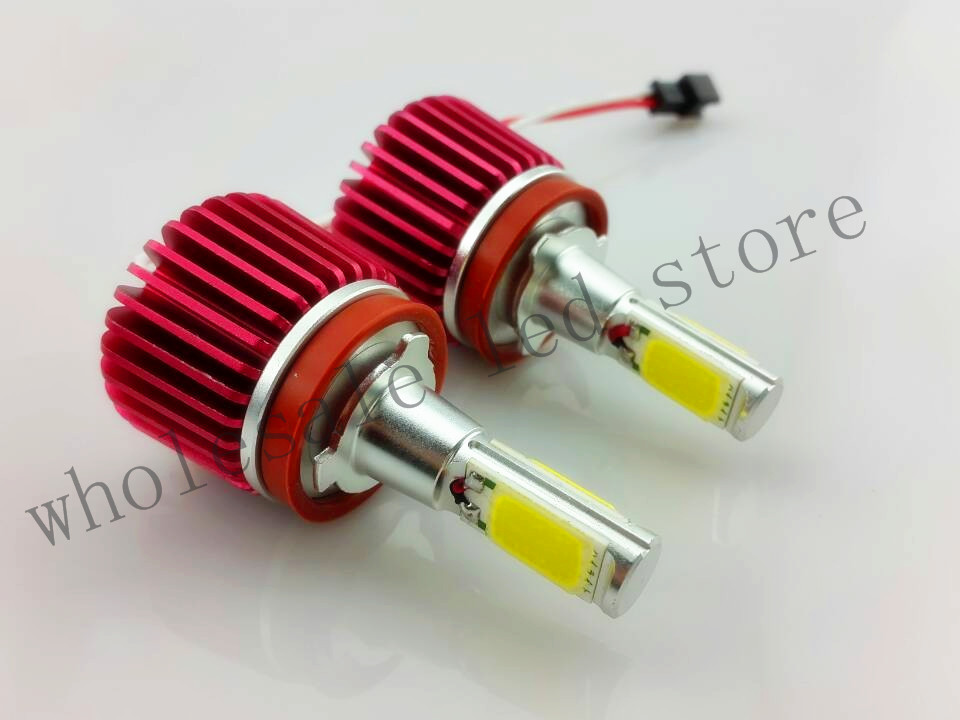 2X 20W 4SMD COB Led Marker Angel Eyes Bulbs case for BMW E92 H8 (TYPE 9) Error Free Plug and Play Freeshipping GGG<br><br>Aliexpress