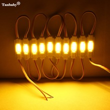 Tanbaby 20Pcs/lot COB Chip Injection LED Module lamp Waterproof IP67 DC12V advertising module Logo letter lightbox source