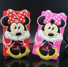Hot 3D Silicon Hold Minnie Mickey Mouse Soft Case Cover for Microsoft Nokia Lumia 435 532 Phone Back Skin Fashion Style