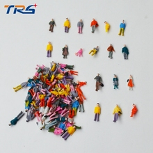 Buy Mixed Painted Model Trains People Passengers Figures Scale 1:100 Make Model train layout for $3.15 in AliExpress store