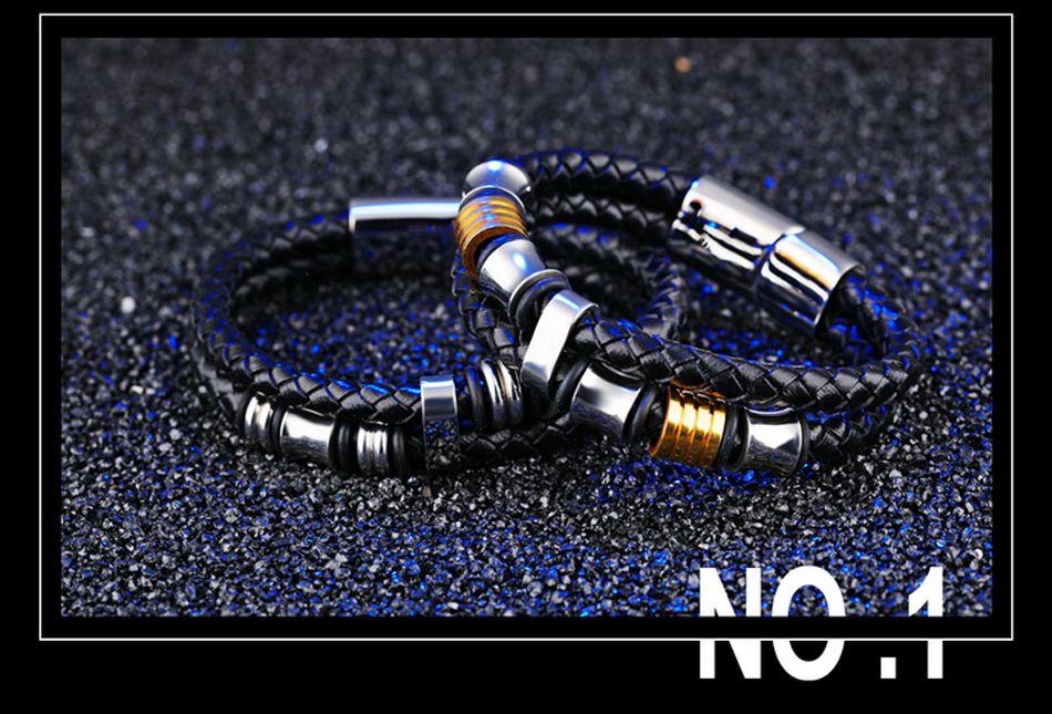 3-Leather Bracelet