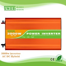 6KW Peak 3KW inverter DC-AC 12V/24V input pure sine wave hybrid solar inverter /mains function inverter