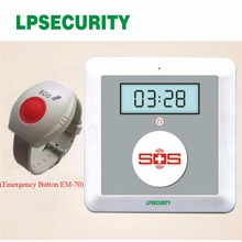 GSM SOS elderly Alarm unit K4 with emergency alert Andriod app Wireless gsm dialer in alarm(China)