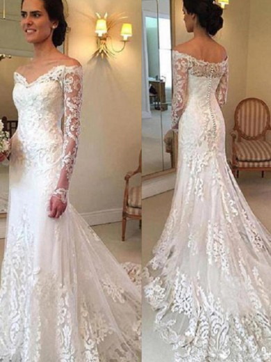 Vintage Lace Wedding Jackets Bridal Wraps Off The Shoulder Plus Size Custom 2019