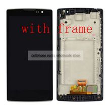 Black For Lg Spirit H440 H442 H420 c70 H422 H440N H440Y Lcd Display With Touch Glass Digitizer Assembly replacement