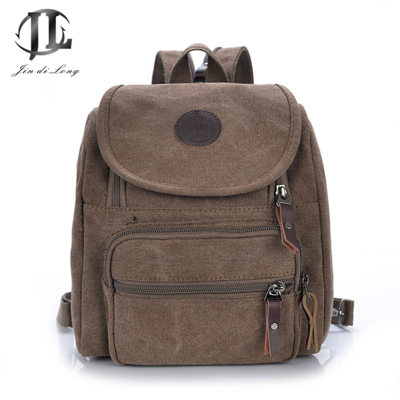 New fashion Canvas Multi-function Women Small Travel Backpack School Bags Ladies Crossbody Shoulder Bag Chest Back Pack Rucksack<br><br>Aliexpress