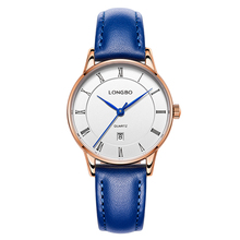 Dropshipping 2017 Ladies Watch Longbo Top Brand Popular Women Dress Leather Watches Clock Charm Timepieces Gift reloj saat 80292