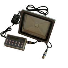 5X DMX512 30W IP68 led floodlight full color outdoor led floodlight express free shipping