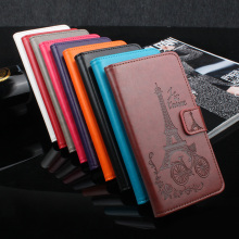 Wallet Style Leather Case for Xiaomi Redmi 4X Fashion Embossed Flip Cover Case for Xiaomi Redmi 4X Pro With Stand Function(China)