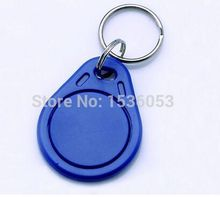 20pcs RFID hotel key fobs EM4305 chip or T5577 chip copy card 125KHz rewritable read and write proximity ABS tags access control(China)