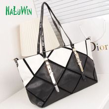 HaluwinNNN women handbags casual tote style big business solid bag versatile premium leather lady bags shoulder office factory