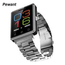 2017 Pewant HD Display Smart Watch MTK2502 Bluetooth Android Wear IOS Wristwatch Support Facebook Twiffer Whatsapp Smartwatch