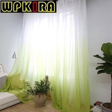 Fashion Terylene Tulle Window Screening Blinds Sheer Voile Gauze Curtain For Cafe Kitchen Living Room Balcony 30