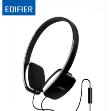 Edifier P640 HiFi Headphone NdFeB Driver Deep Bass Headset Versatile Connection With Microphone for Smartphone Computer iPad MP3