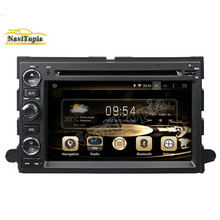 NAVITOPIA 2G RAM Eight Octa Core 32G Android 6.0 Car DVD for Ford Focus 2004-2006 for Edge 2007-2009 for Ford Expedition Radio