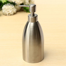 Xueqin Free Shipping 500ml Hotel Bathroom Liquid Soap Dispenser Hand Pump Sanitizer Lotion Shampoo Dispensers Bottle Container(China)