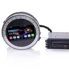 "7"" Quad-Core 2GB RAM 16GB ROM Android 7.1.2 OS Car DVD for BMW Mini Cooper 2006-2013 with External DAB+Receiver Box Support(China)"