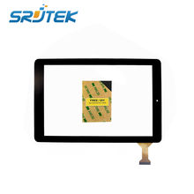 10.1 inch Black Touch Screen OEM Compatible with RCA 10 Viking Pro For RCT6303W87D Tablet PC Digitizer Glass Sensor Replacement
