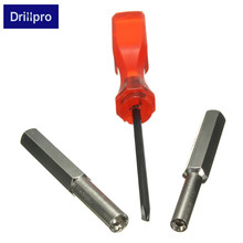 Drillpro 1PC 3.8mm+4.5mm+Triwing Security Screwdriver Bit Set For NES SNES N64 Game Boy Best Quality