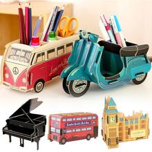Mini DIY Desktop Storage Box Car storage box phone Small Things Case Multifunction Pen Holders Student Unique Gift