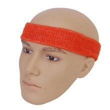 JEYL 1x Headband and 2x Elastic Wrist band for Sports - Orange