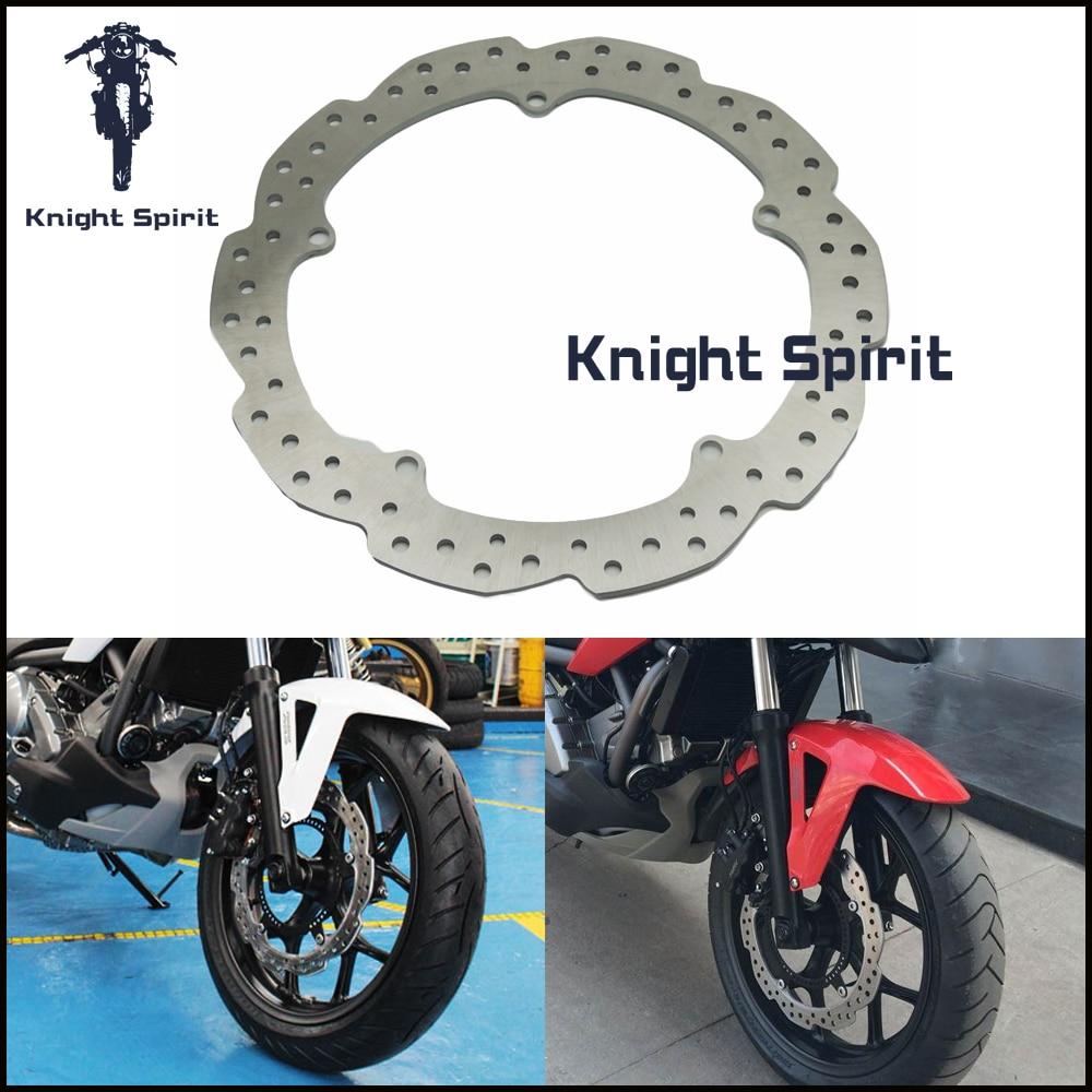 Front Wheel Disc Brake Rotor For HONDA NC750X//NC750S//NC700S//NC700X//NC700D//CTX700