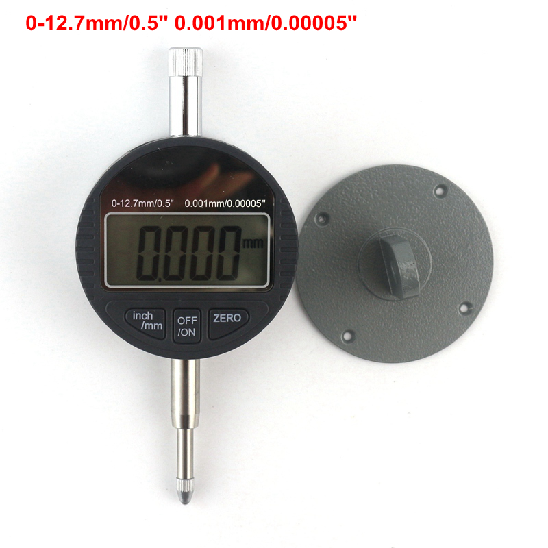 Digital Thickness Gauge Tester 0-12.7mm/0.5 0.001mm Electronic Micrometer Caliper Micrometro <br>