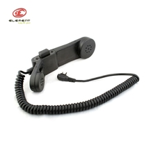 Element H-250 Military Army Paintball Phone for Motorola 2-way Version Pins Outdoor Wargame CS Field Communication Earphone