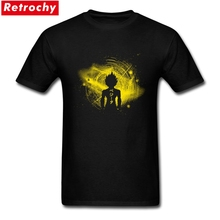 2017 Cool Strech Fit Men's Son of Saiyan Tees T Shirts Screen Printing Short Sleeve Cotton Cheap Anime T Shirts Mens tee shirts(China)