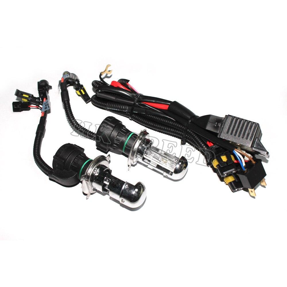 2PC/SET Auto Car HID Xenon Conversion Lights Bulbs Sourcing H4-3 BI-XENON HI/LOW 35W 3000K 4300K 5000K 8000K 10000K 12000K<br><br>Aliexpress