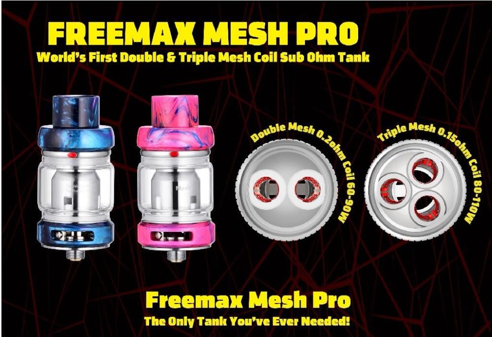 Freemax Mesh Pro Sub Ohm Tank