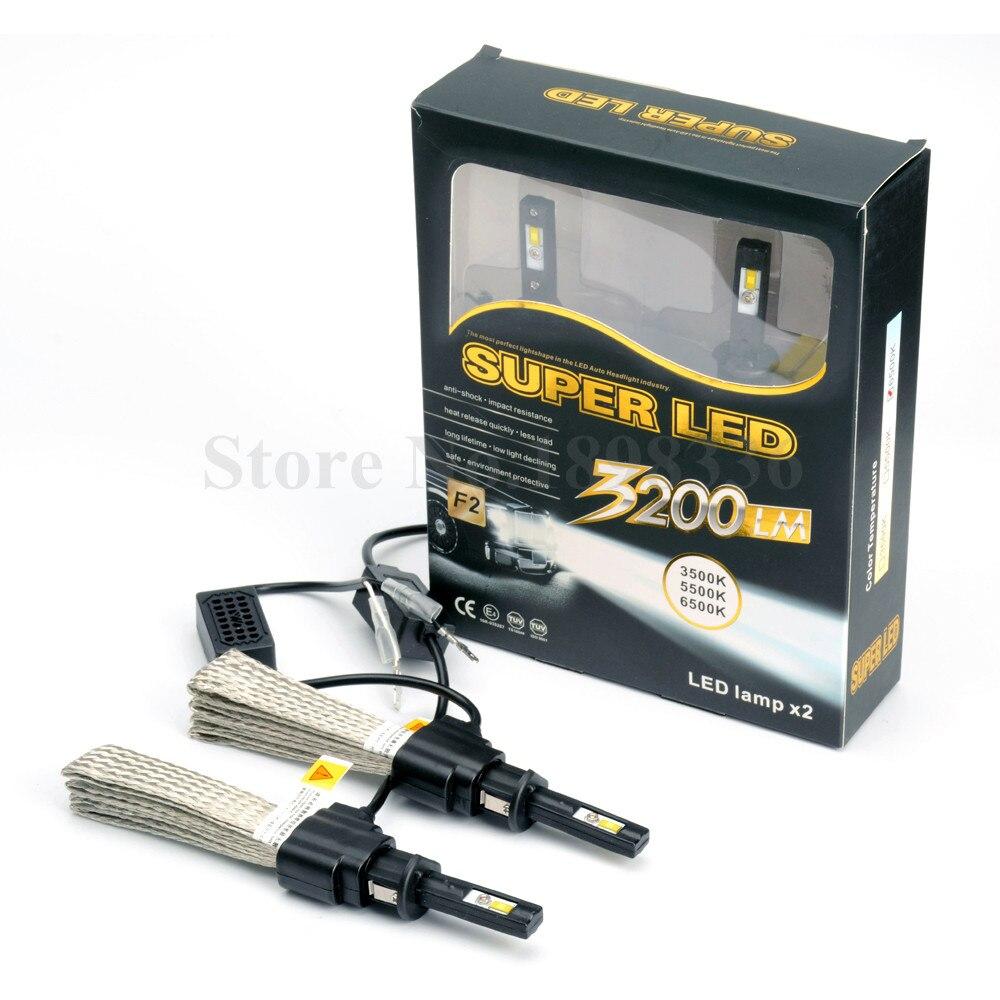1 pair 40w 6000lm H1 Car headlight COB LED lamps Kit led Auto Front Light Fog Bulb Automotive Headlamp white 6500k<br><br>Aliexpress