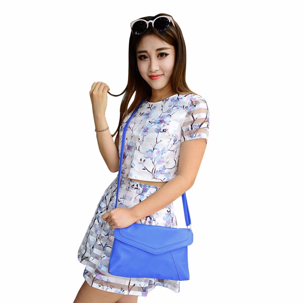 2017 Summer New Fashion Leisure Women Bag Nice Envelope Diagonal Handbags Of Candy Colors Women Messenger Bags BS88(China (Mainland))