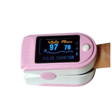 Hot Fingertip Pulse Oximeter Spo2 Monitor Pulse Oximeter Module CMS 50D SPO2 And Pulse Rate With Color Box Packing Free Shipping(China)