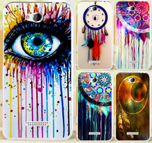 Multi Styles Dream Catcher Telephone Booth Letters PC Plastic Phone Case Cover For HTC Desire 616 D616W Cases Skin Shell