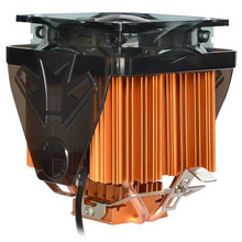 Powerful 120x100x100mm Copper Heat Pipe CPU Cooler Fan for Desktops Computer Adopts Hydraulic Structure and Ultra Quiet Fan