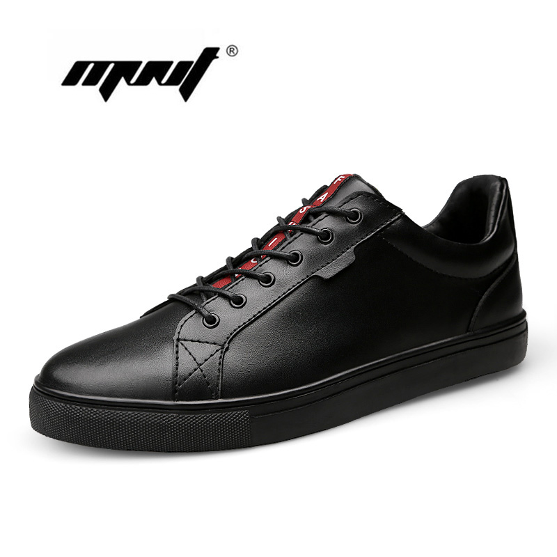 New fashion Men flats 100% Genuine leather flat shoes mens leather shoes breathable loafers men walking shoes<br>
