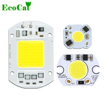 ECO CAT COB LED Chip Real Power 5W 10W 20W 30W 50W LED Lamp Bulb 220V 240V Input IP65 Smart IC For DIY Outdoor LED Flood Light