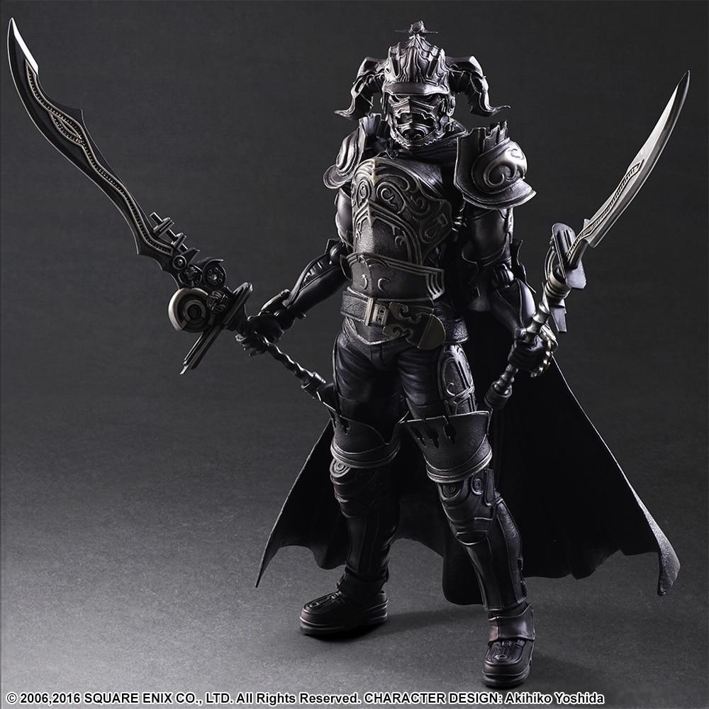 SQUARE ENIX Play Arts KAI Final Fantasy DISSIDIA Gabranth PVC Action Figure Collectible Model Toy 28cm KT2904<br>