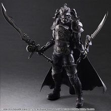 SQUARE ENIX Play Arts KAI Final Fantasy DISSIDIA Gabranth PVC Action Figure Collectible Model Toy 28cm KT2904(China)