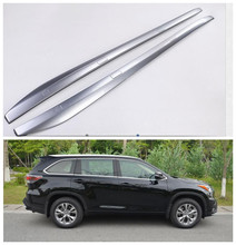 Auto Roof Racks Luggage rack For Toyota Highlander 2015.2016.2017 High Quality Brand New ABS Screw fixing Car Accessorie