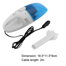 Mini Car Vacuum Cleaner Dust Cleaner 12V Portable Car Vehicle Auto Recharge Wet Dry Handheld Vacuum Cleaner Super Suction