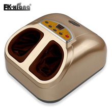 Foot massager Machines.Vibrating Feet Care Massage Device.Infrared Heat Therapy Body Relax Blood Circulation Warm Feet Massager(China)